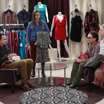 Dress shopping the big bang theory