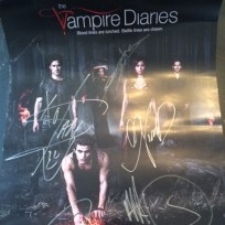 Tvd signed poster