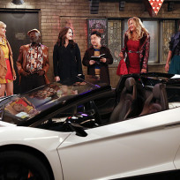 The lamborghini 2 broke girls