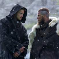 King ragnar and bjorn ironside vikings s3e1