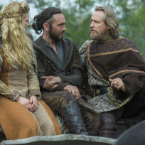 King ecbert impressed by lagertha vikings s3e1