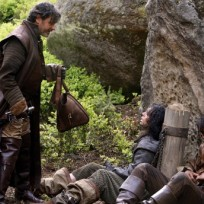 Mistaken for commoners the musketeers