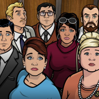 Sad faces archer s6e5
