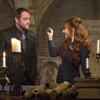 Crowley and rowena supernatural season 10 episode 14