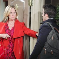The lady in red days of our lives