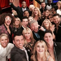 Dancing with the stars selfie