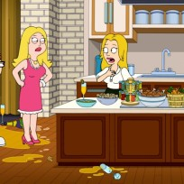 The cooking show american dad