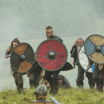Ragnar leads the charge vikings s3e3