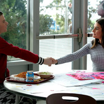 Kurt and rachels first meeting glee season 6 episode 12