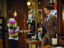 Barney Talking with Robin