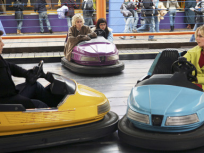 Daniel and Alexis in Bumper Cars