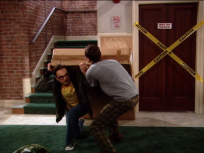 Sheldon and Leonard Deliver