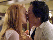 Charlie and Hiro Kiss