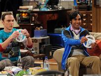 Raj and Sheldon Race