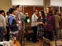 Sheldon and Raj Mingling