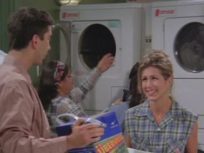 Ross and Rachel Do Laundry
