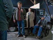 Sam, Castiel, Bobby