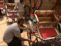 Nick Builds a Rickshaw
