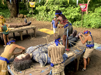 The Survivors Compete in a Challenge