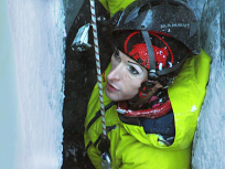 Kent Lowered In To A Crevasse