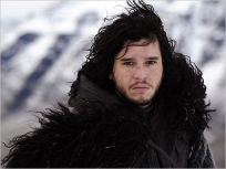 Jon Snow Photograph