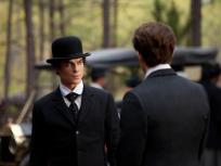Damon in a Bowler