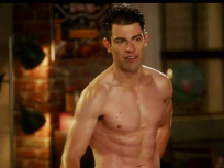 Schmidt Shirtless