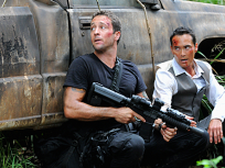 McGarrett & Wo Fat Under Fire
