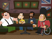 Family Guy Goes British
