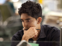 Dev Patel on The Newsroom