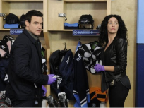 Pete & Myka In The Locker Room