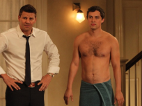 Bones, Sweets Shirtless