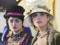 Aria and Hanna on Halloween