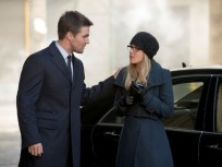 Oliver and Felicity in Russia