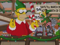 Christmas on The Simpsons