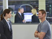 Meghan Ory and Josh Holloway