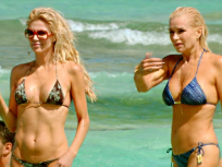 Brandi and Yolanda in Bikinis
