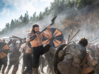 Rollo Kicks his Way through Ragnar's Army