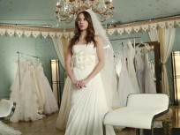 Spencer in her Fateful Gown