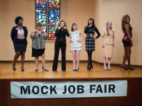 Mock Job Fair Scene