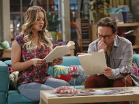 Penny and Leonard Read a Script