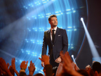 Ryan Seacrest on Stage