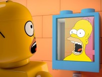 Homer as a LEGO