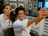 Kim and Kris Selfie