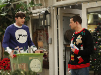 Explaining Santa - Two and a Half Men