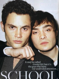 Penn Badgley, Ed Westwick