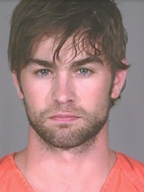 Chace Crawford Booking Photo