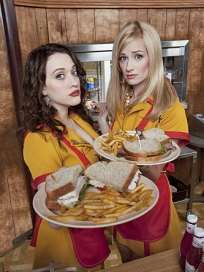2 broke girls photo
