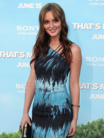 Leighton at That's My Boy Premiere