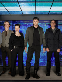 Almost human cast pic